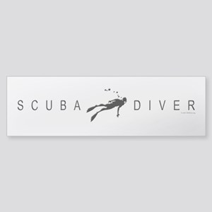 Scuba Diver: Band 2 Sticker (Bumper)