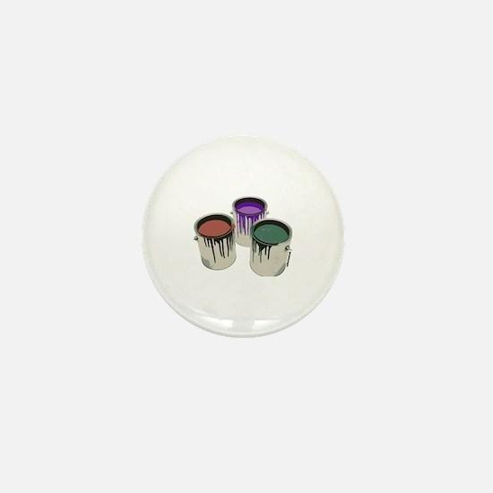 Paint cans Mini Button