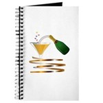 Champagne Party Celebration Journal