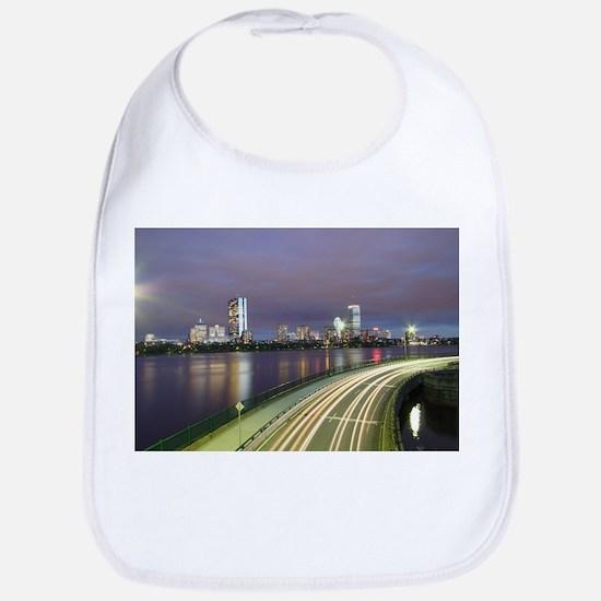 City Skyline Bib