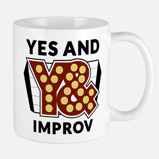 Yes And Logo Mugs