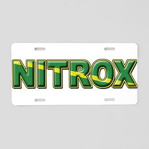 NITROX Aluminum License Plate
