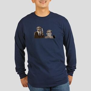 The Castros Long Sleeve Dark T-Shirt