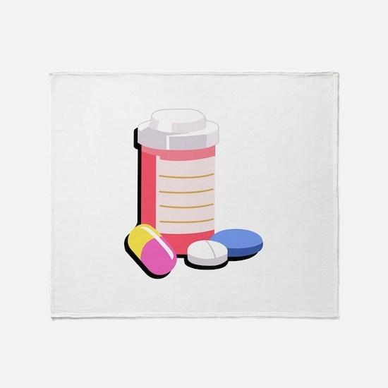 PRESCRIPTION DRUGS Throw Blanket