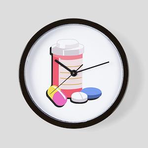 PRESCRIPTION DRUGS Wall Clock