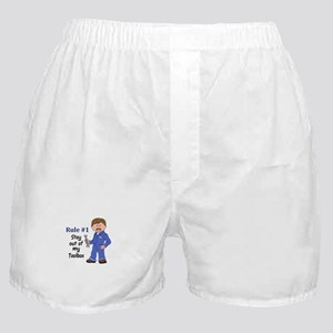STAY OUT OF MY TOOLBOX Boxer Shorts