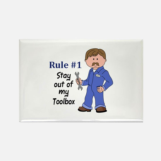 STAY OUT OF MY TOOLBOX Magnets