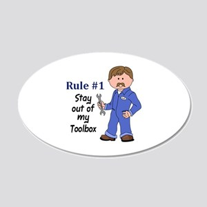 STAY OUT OF MY TOOLBOX Wall Decal