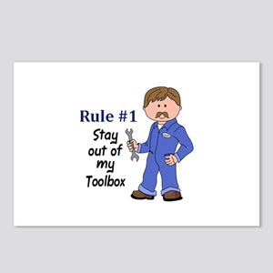 STAY OUT OF MY TOOLBOX Postcards (Package of 8)
