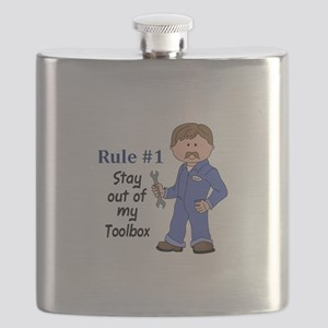 STAY OUT OF MY TOOLBOX Flask