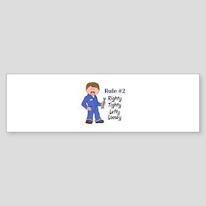 RIGHTY TIGHTY Bumper Sticker
