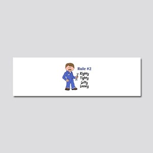 RIGHTY TIGHTY Car Magnet 10 x 3