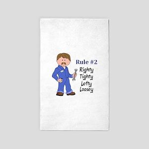 RIGHTY TIGHTY Area Rug