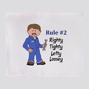 RIGHTY TIGHTY Throw Blanket