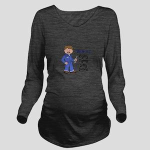 RIGHTY TIGHTY Long Sleeve Maternity T-Shirt