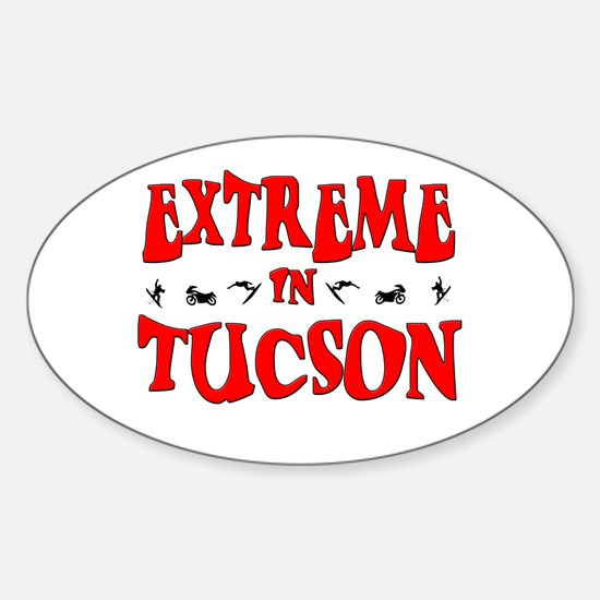 Extreme Tucson Oval Decal