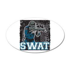 Police SWAT Team Member Wall Decal