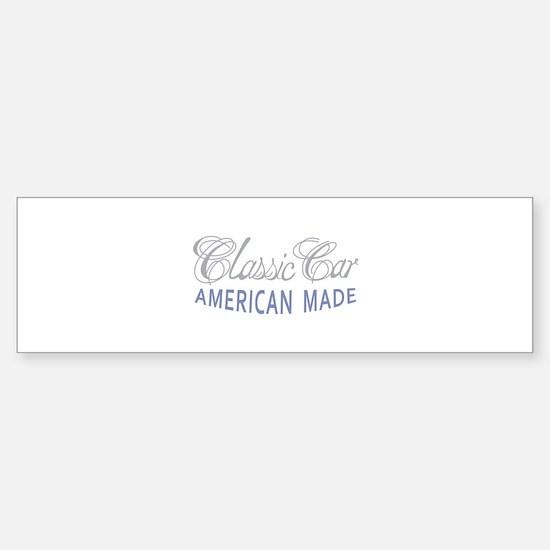 Classic Car American Made Bumper Car Car Sticker