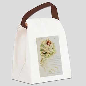 Wedding Bells Canvas Lunch Bag