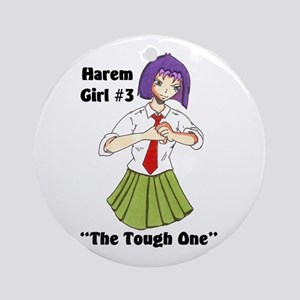 Harem Girl #3 - The Tough One Ornament (Round)