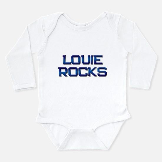 louie rocks Infant Bodysuit Body Suit