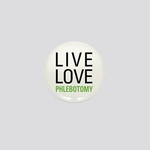 Live Love Phlebotomy Mini Button