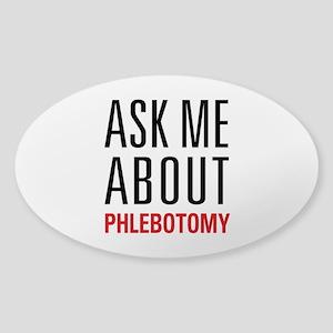 Phlebotomy Sticker (Oval)