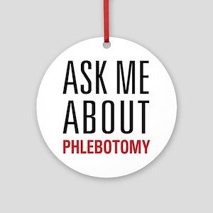 Phlebotomy Ornament (Round)