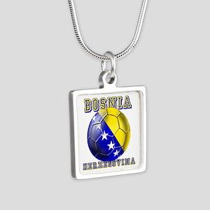 Bosnia Herzegovina Football Necklaces