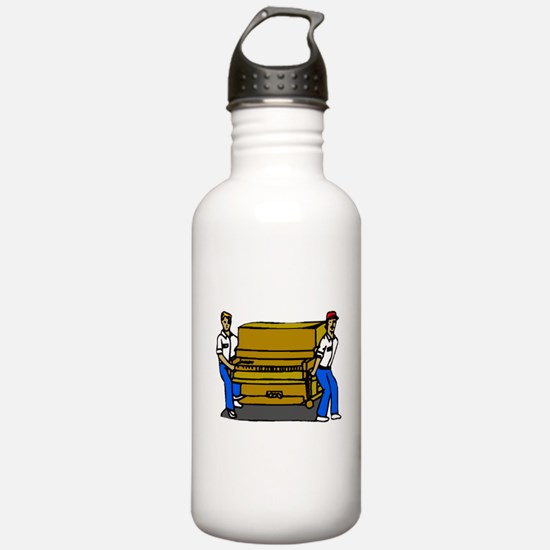 Piano Movers Water Bottle
