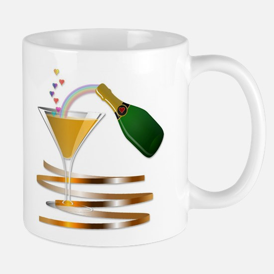 Champagne Party Celebration Mug
