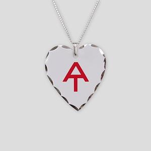 Appalachian Trail Necklace Heart Charm
