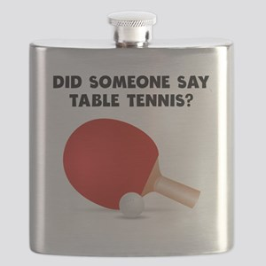 Did Someone Say Table Tennis? Flask