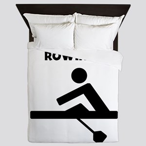 Did Someone Say Rowing? Queen Duvet