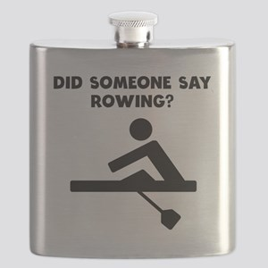 Did Someone Say Rowing? Flask
