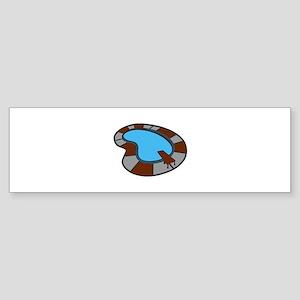 SWIMMING POOL Bumper Sticker