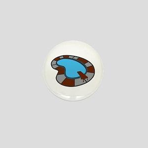 SWIMMING POOL Mini Button