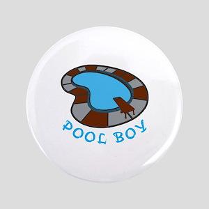 """POOL BOY 3.5"""" Button"""