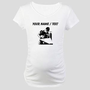 Welder (Custom) Maternity T-Shirt