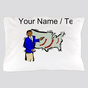 Weather Reporter (Custom) Pillow Case