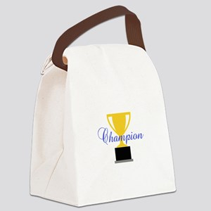 CHAMPION TROPHY CUP Canvas Lunch Bag