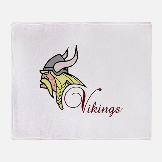 VIKINGS Throw Blanket