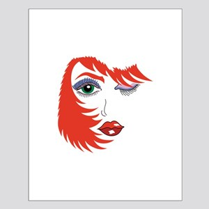 WOMANS FACE AND HAIR Posters