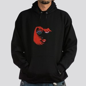 WOMANS FACE AND HAIR Hoodie