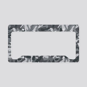 Urban Camo License Plate Holder