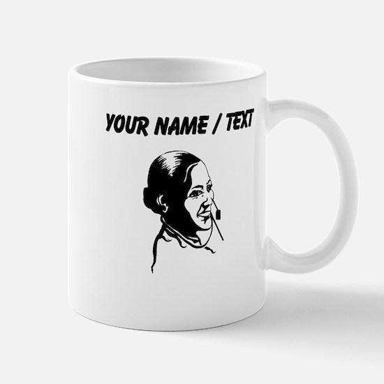 Telephone Operator (Custom) Mugs