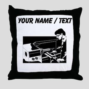Technician (Custom) Throw Pillow