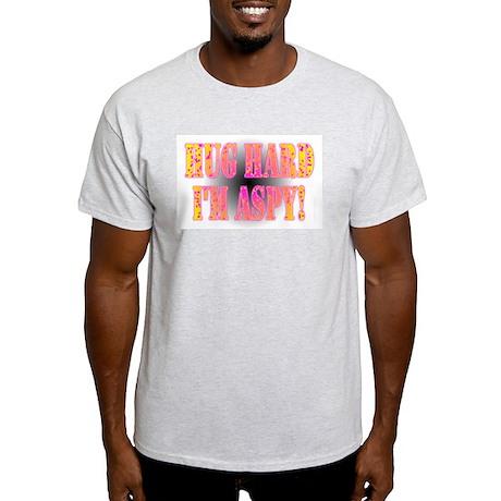 Hug Hard Ash Grey T-Shirt