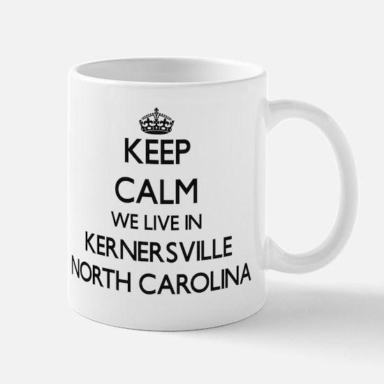Keep calm we live in Kernersville North Mug