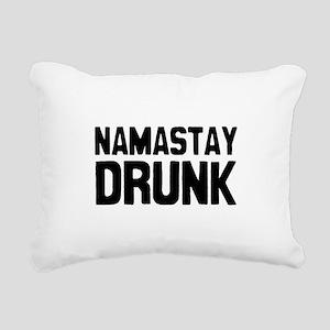Namastay Drunk Rectangular Canvas Pillow